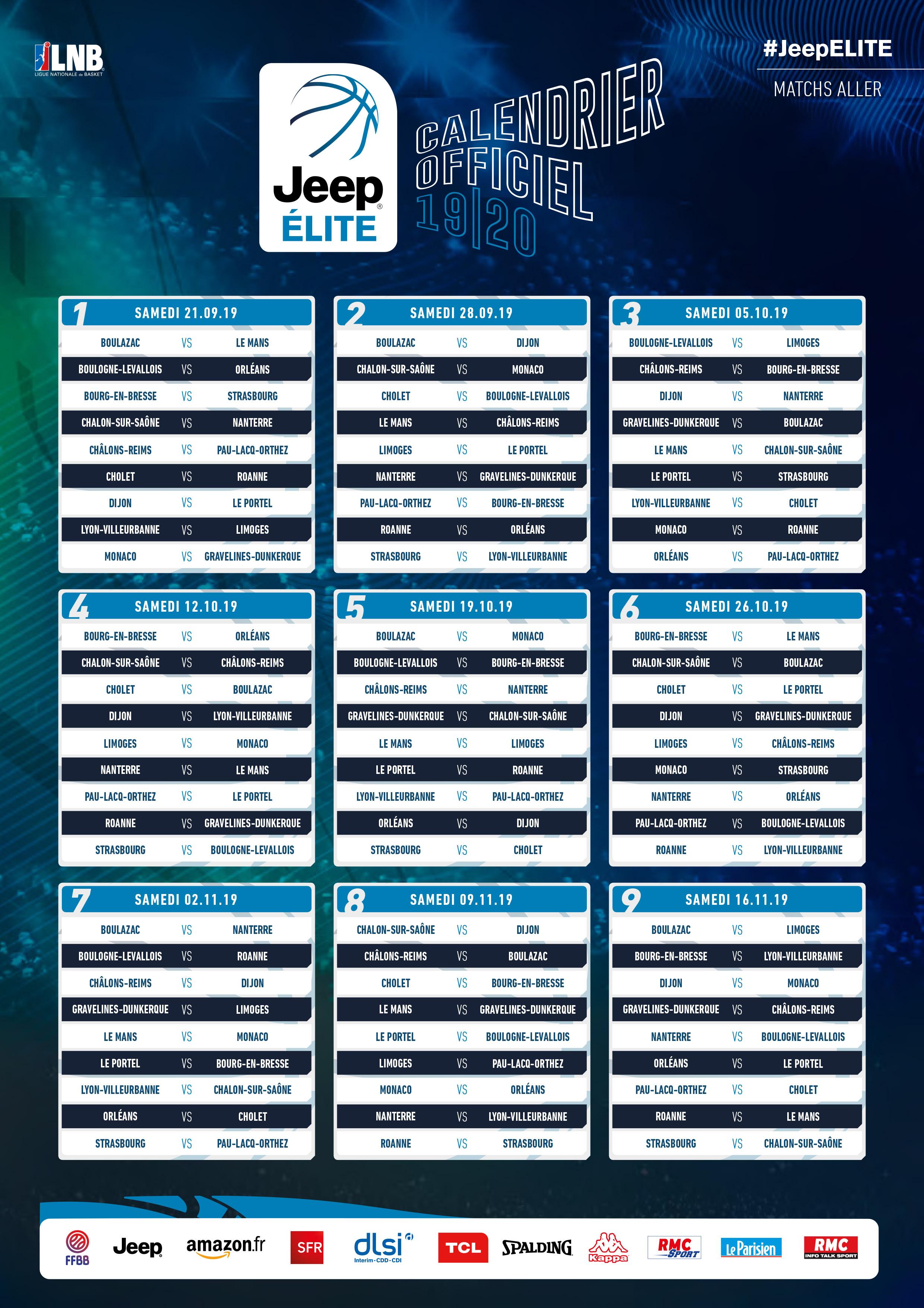 Calendrier Saison 2020.Orleans Loiret Basket Olb Actualites Communiques